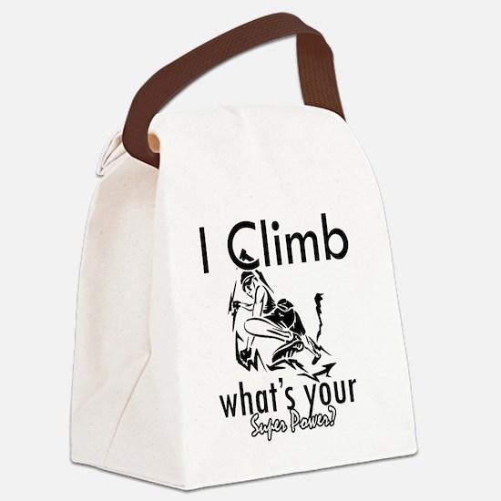climb Canvas Lunch Bag