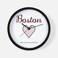 Boston_10x10_Massachusetts_SweetDreams_ Wall Clock