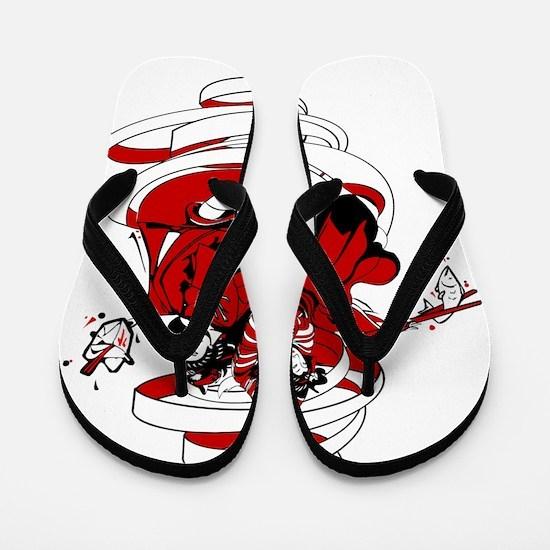 Japanese design Flip Flops