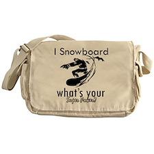 snowboard Messenger Bag
