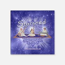 """Starseed-Button-3x3 Square Sticker 3"""" x 3"""""""