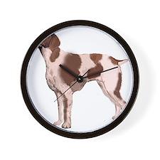 brittany single Wall Clock