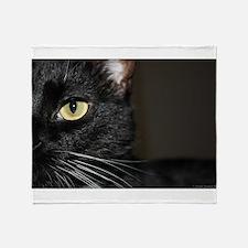 Cat eye Throw Blanket