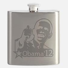 OBAMA_CHARCOAL_for dark2-01 Flask