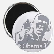 OBAMA_CHARCOAL_for dark2-01 Magnet