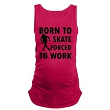 skate-roller Maternity Tank Top