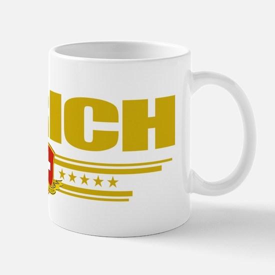 Zurich (Flag 10) pocket Mug