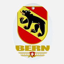 Bern (Flag 10) Oval Ornament