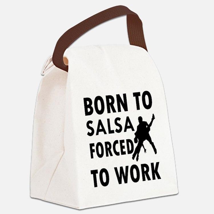 zz-salsa Canvas Lunch Bag