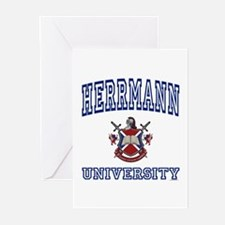 HERRMANN University Greeting Cards (Pk of 10)