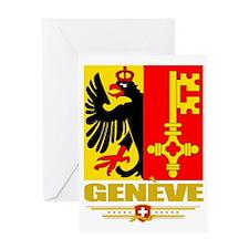 Geneva (Flag 10) Greeting Card