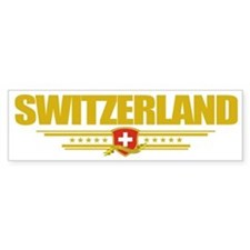 Switzerland (Flag 10) pocket Bumper Sticker