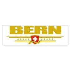 Bern (Flag 10) pocket Bumper Sticker