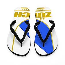 Zurich (Flag 10) Flip Flops