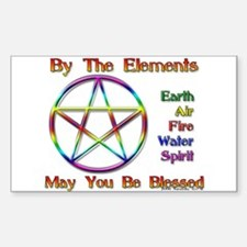 Elemental Blessing Rectangle Decal