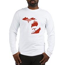 Michigan-love-W Long Sleeve T-Shirt