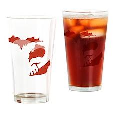 Michigan-love-W Drinking Glass