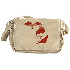 Michigan-love-W Messenger Bag