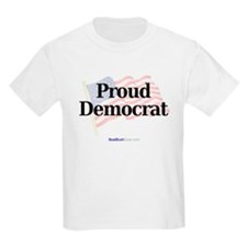 """Proud Democrat"" Kids T-Shirt"