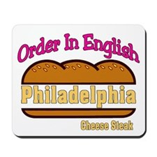 Order In English, Philly Chee Mousepad