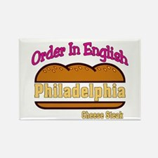 Order In English, Philly Chee Rectangle Magnet