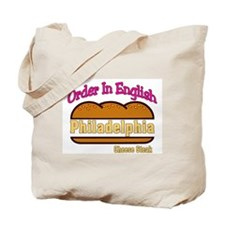 Order In English, Philly Chee Tote Bag