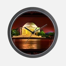 Jefferson Memorial Wall Clock