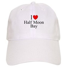 """I Love Half Moon Bay"" Baseball Cap"