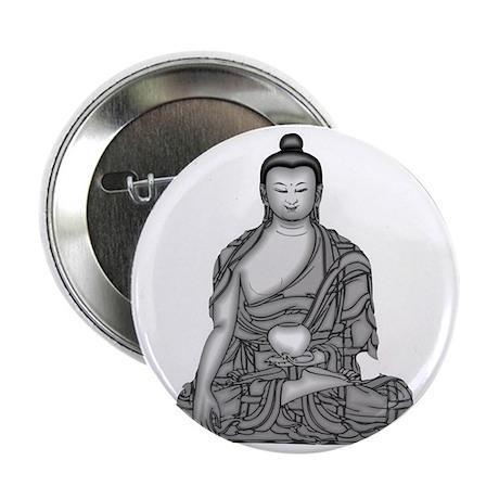 "Buddha Wisdom 2.25"" Button"