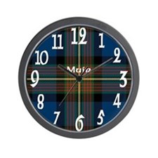 Muir Clan Wall Clock