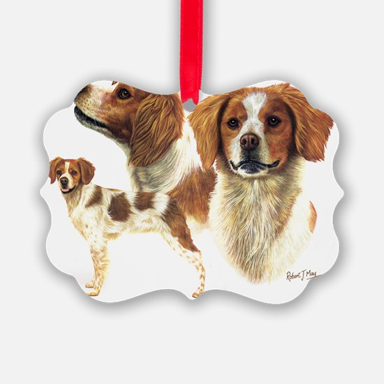 Brittany Ornament