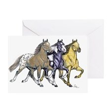 GAITED LINEAR1 Greeting Card
