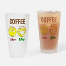 NewCoffee Drinking Glass