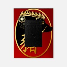 Year Of The Pig -Black Boar PosterP Picture Frame
