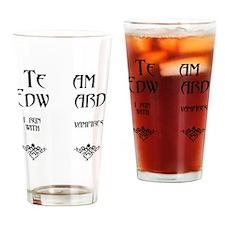 flips copy Drinking Glass