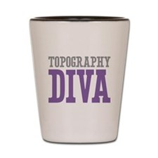 Topography DIVA Shot Glass