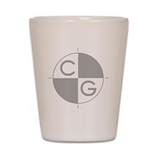 CG_white_dark Shot Glass