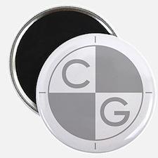 CG_white_dark Magnet