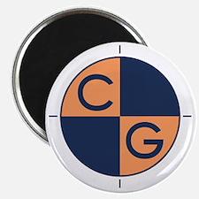 CG_orange_blue Magnet