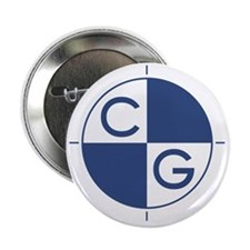 "CG_blue_white 2.25"" Button"
