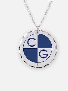 CG_blue_white Necklace