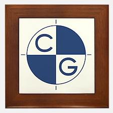 CG_blue_white Framed Tile