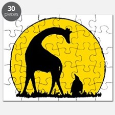 Penguin And Giraffe Puzzle