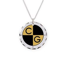 CG_yellow_black Necklace