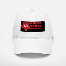 TEXAS GOD BLESSDBUT Baseball Baseball Cap
