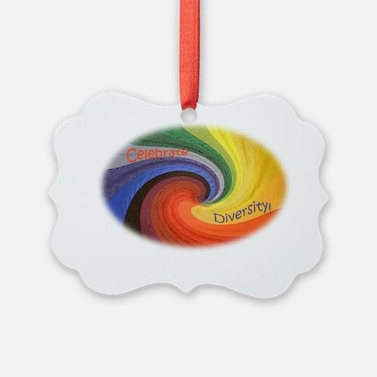 Diversity oval Ornament