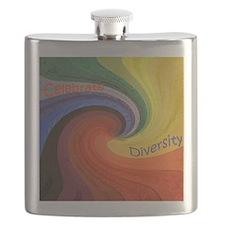 Diversity square Flask