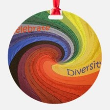 Diversity square Ornament