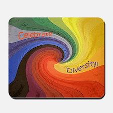 Diversity square Mousepad