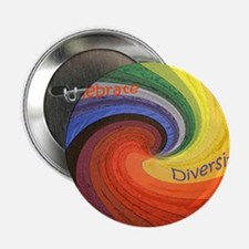 "Diversity square 2.25"" Button"